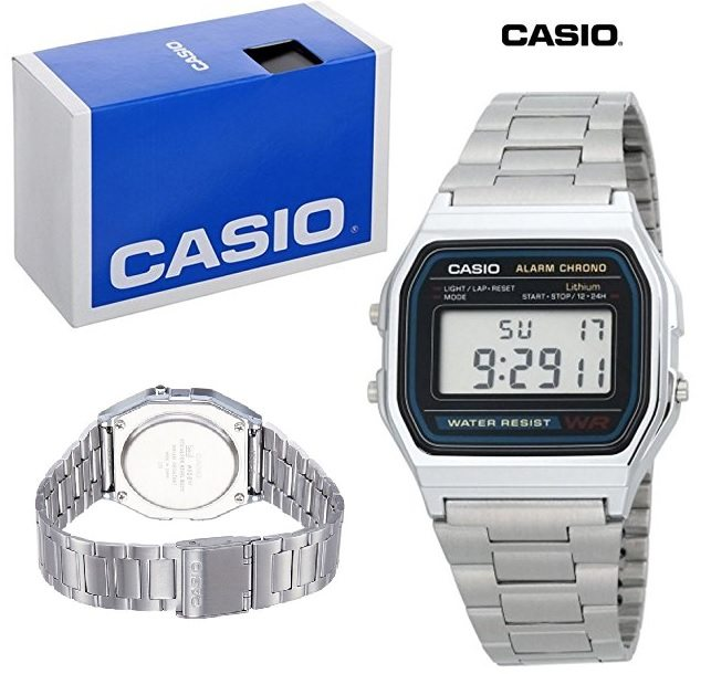Casio A158WA - Reloj unisex