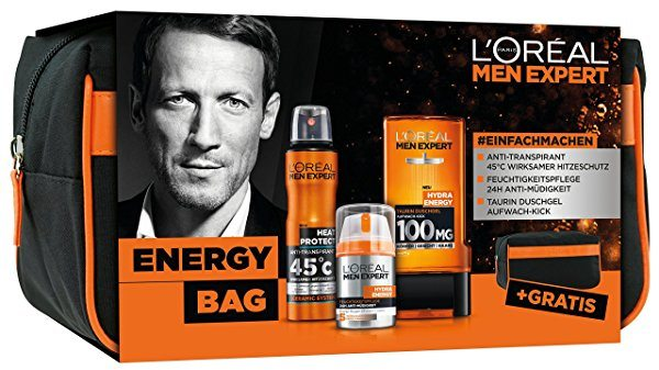 Set L'Oréal Men Expert Energy Bag + Neceser