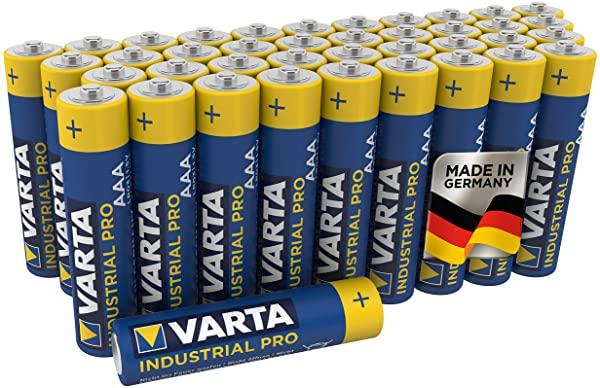 VARTA Industrial Pack de 40 AAA
