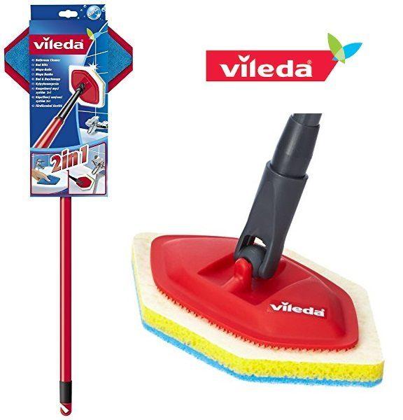 Mopa para baño Vileda 116285 con palo telescópic