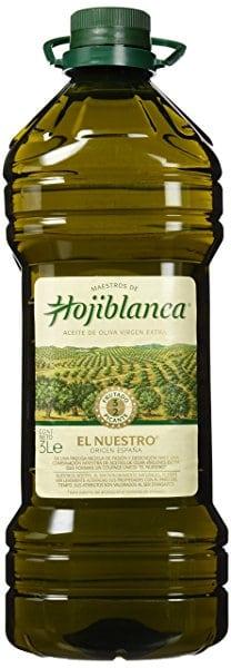 """Aceite de oliva virgen extra HOJIBLANCA """"El Nuestro"""""""