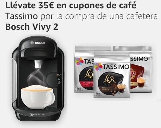 35 euros en cupones para café Tassimo
