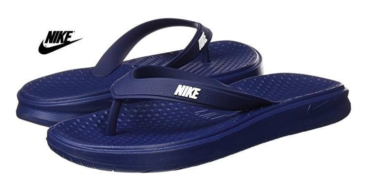 Chanclas Nike Solay de goma