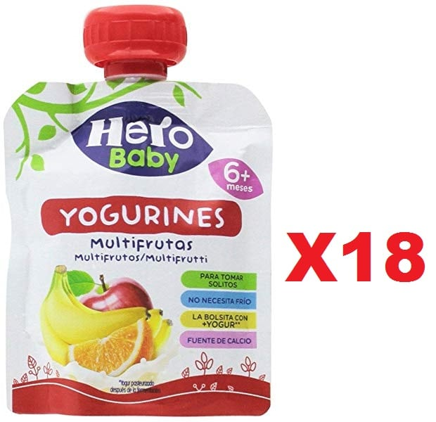 18 x Bolsita Yogurines Multifrutas
