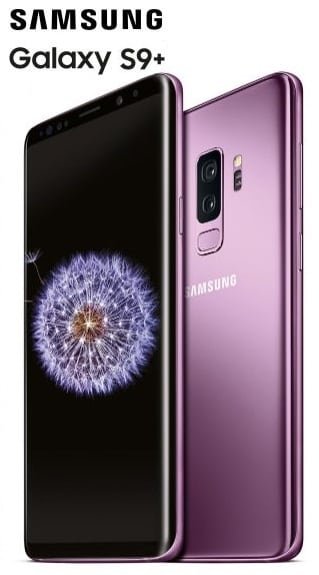 """Samsung Galaxy S9 Plus - Smartphone de 6.2"""""""