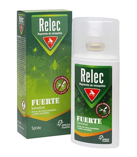 Relec Fuerte Familiar Sensitive Spray Antimosquitos - 75 ml