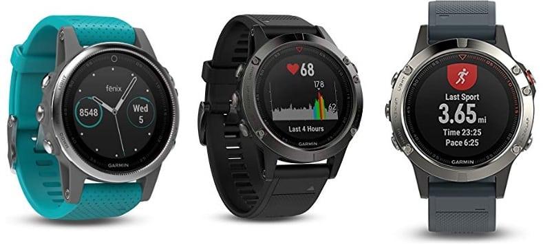 Garmin Fenix 5 - Reloj Multideporte con GPS y medidor de frecuencia Cardiaca