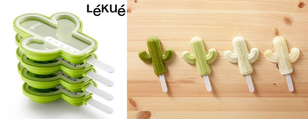 Lekue Kit de 4 cactus helados