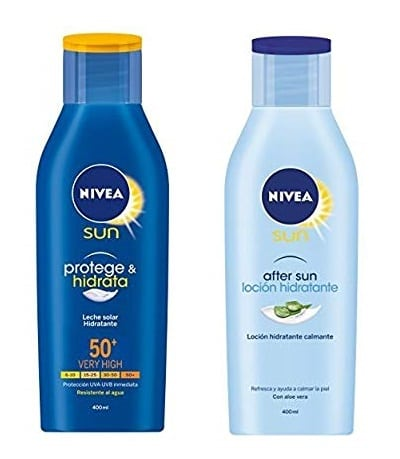 Lote Nivea Sun: Crema Solar Hidratante + Loción After Sun