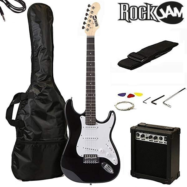 Kit de guitarra eléctrica RockJam RJEG02