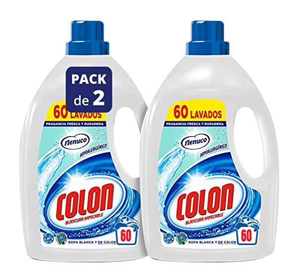 Colon Detergente para Ropa Líquido Fragancia Nenuco Hipoalergénico