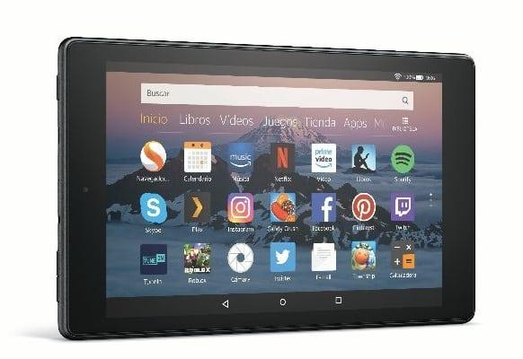 Amazon presenta el nuevo Fire HD 8