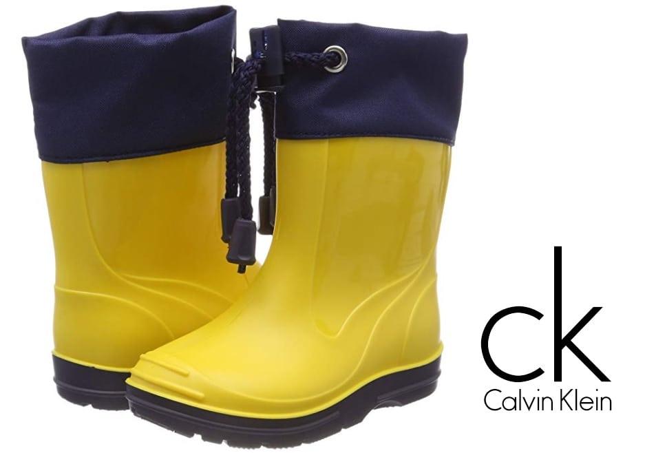 Botas de agua Calvin Klein Basic Unisex para niños