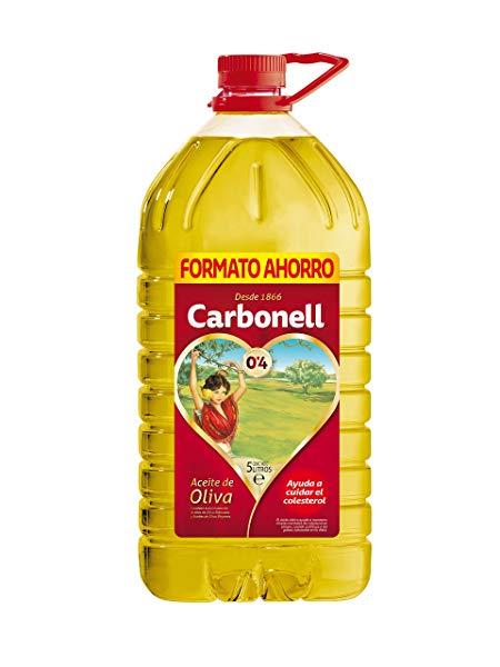 Aceite de oliva Carbonell grado acidez 0,4 de 5 litros