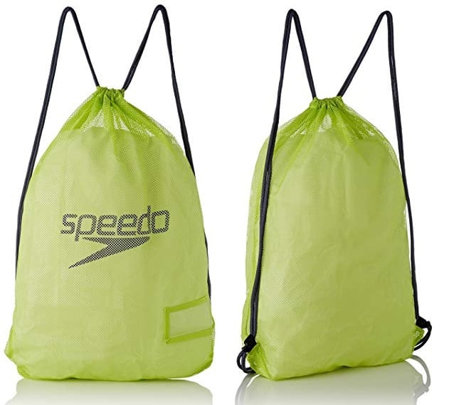 Bolsa de cuerdas Speedo Equipment amarilla
