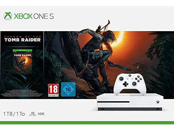 Consola Xbox One S de 1TB + Shadow Of The Tomb Raider