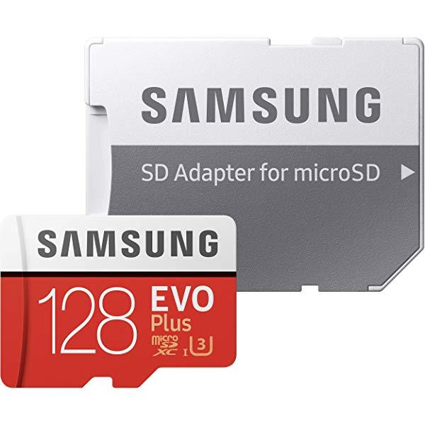 MicroSD de 128Gb Samsung EVO Plus