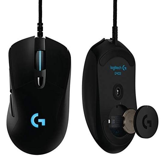 Logitech G403 - Ratón óptico con Cable para Gaming