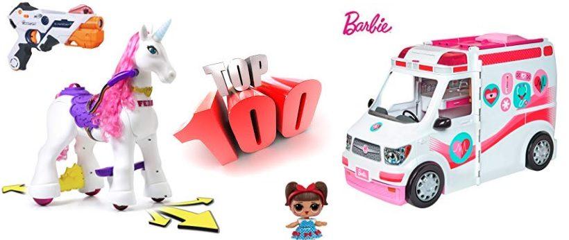 100 juguetes que triunfarán estas Navidades de 2018