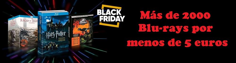 Black Friday en peliculas blu-ray