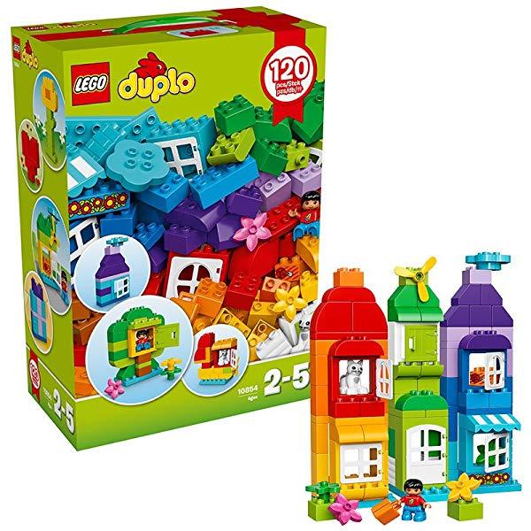 Caja creativa LEGO Duplo Conjunto de 120 Ladrillos 10854
