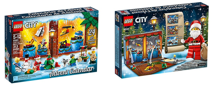 Calendario de Adviento LEGO City Town (60201)