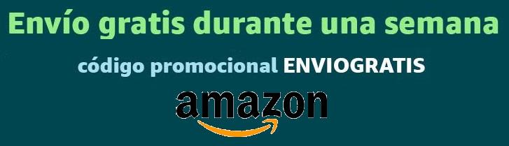Envio gratis durante una semana en Amazon