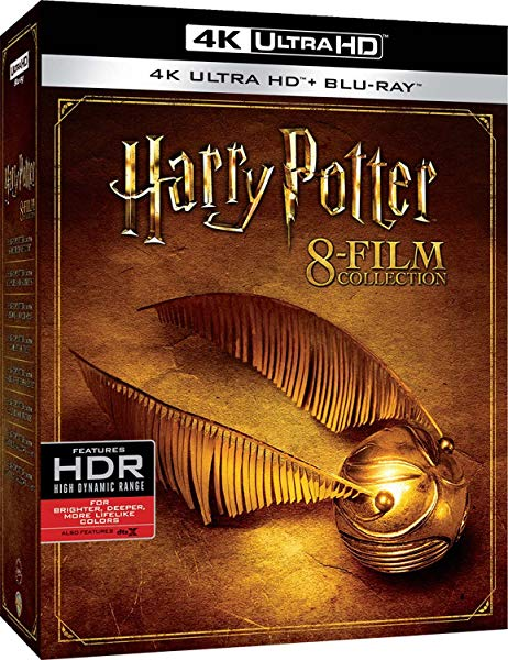 Harry Potter en 8 películas 4K Ultra Hd