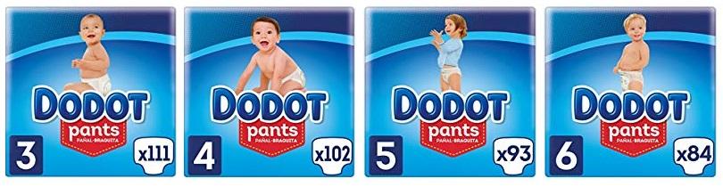 Hasta 33% en Dodot Pants