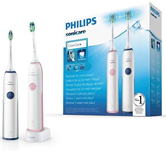 Pack 2 x Philips Sonicare CleanCare HX3212-61