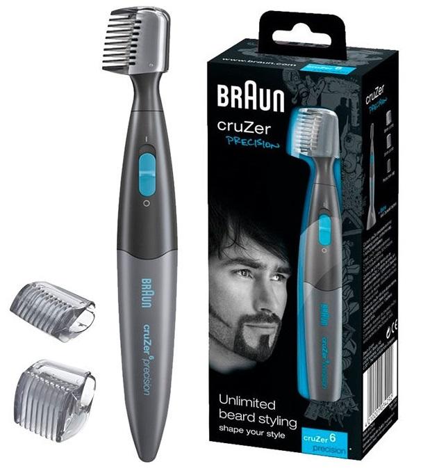 Perfilador de barba Braun Cruzer 6 Precision