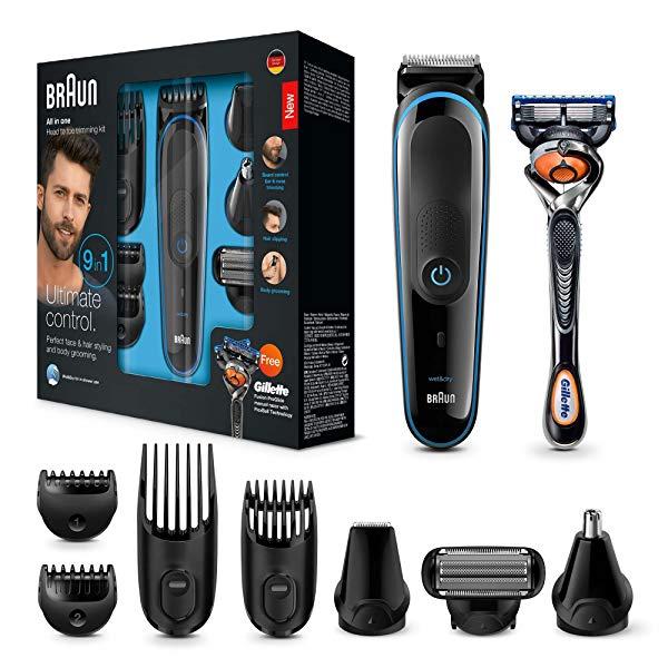 Set de afeitado Braun MGK3085