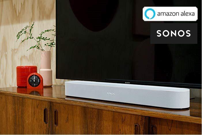 Barra de Sonido Inteligente Sonos Beam con Alexa integrada