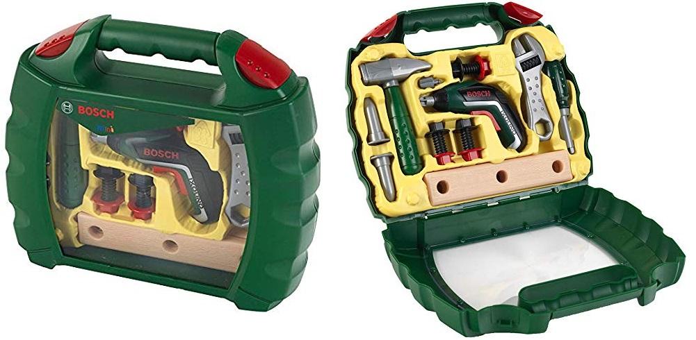 Herramientas de juguete Bosch Ixolino con Maletín