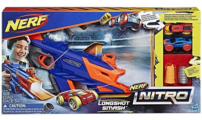 Nerf Juguete Lanzador Longshot Smash Nitro