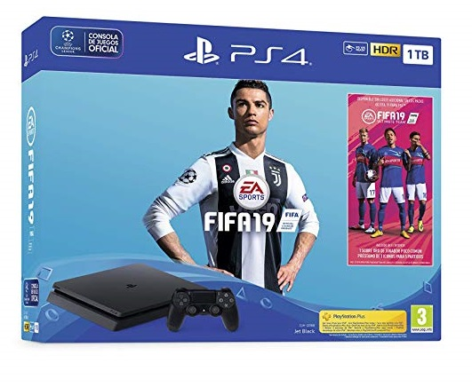 PlayStation 4 (PS4) de1 TB + FIFA 19