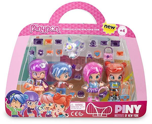Set de Cuatro muñecas Pinypon by PINY (700012916)