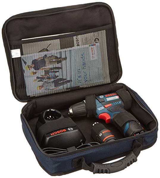 Bosch Professional GSR 12V-15 - Taladro atornillador a batería