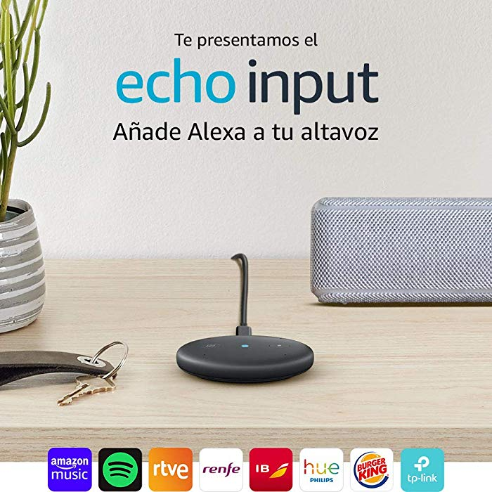 Echo Input Añade Alexa de Amazon a tu altavoz