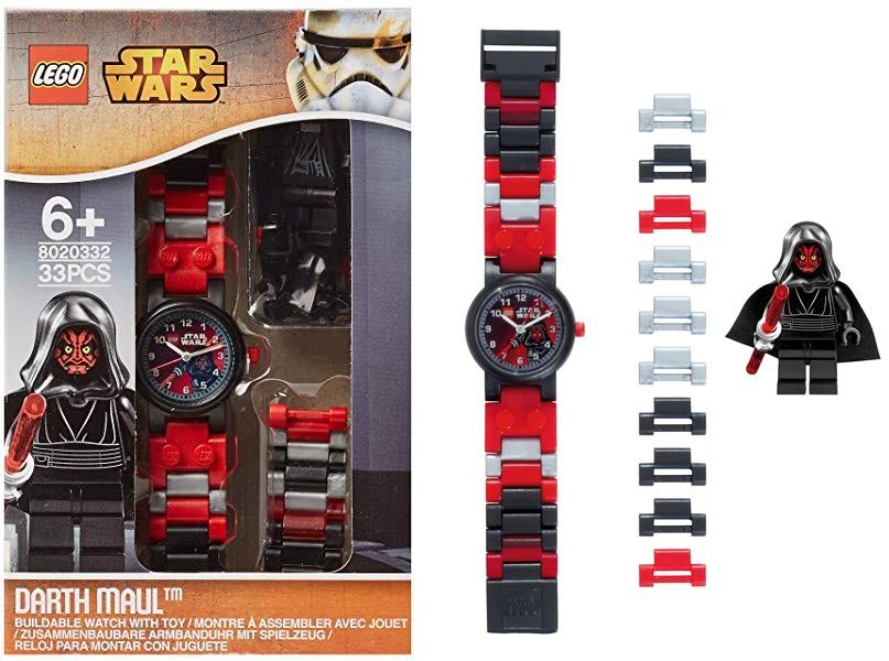 Reloj de pulsera con Minifigura de Darth Maul - LEGO Star Wars