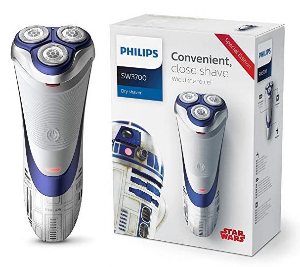 Philips Afeitadora eléctrica en seco SW3700 R2D2 Star Wars