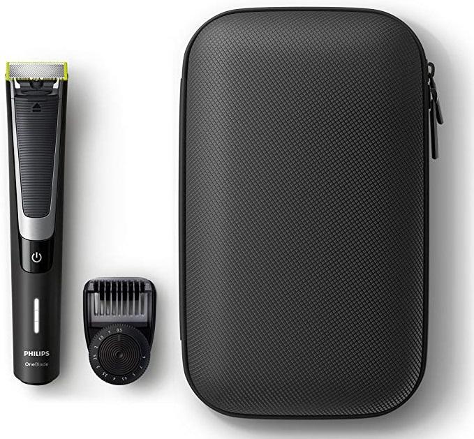 Philips OneBlade Pro QP6510 + Peine precisión + estuche de viaje