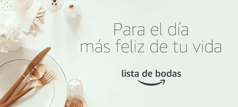 Regalos y lista de boda de novios de Amazon