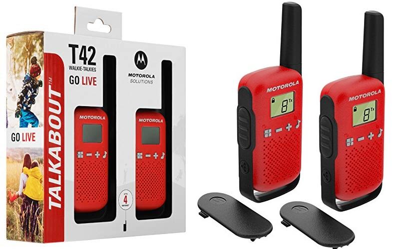 Walkie Talki Motorola T42 Talk About