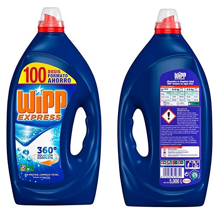 Detergente Líquido Wipp Express Azul
