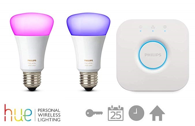 Kit de inicio Philips Hue White and Color Ambiance + puente