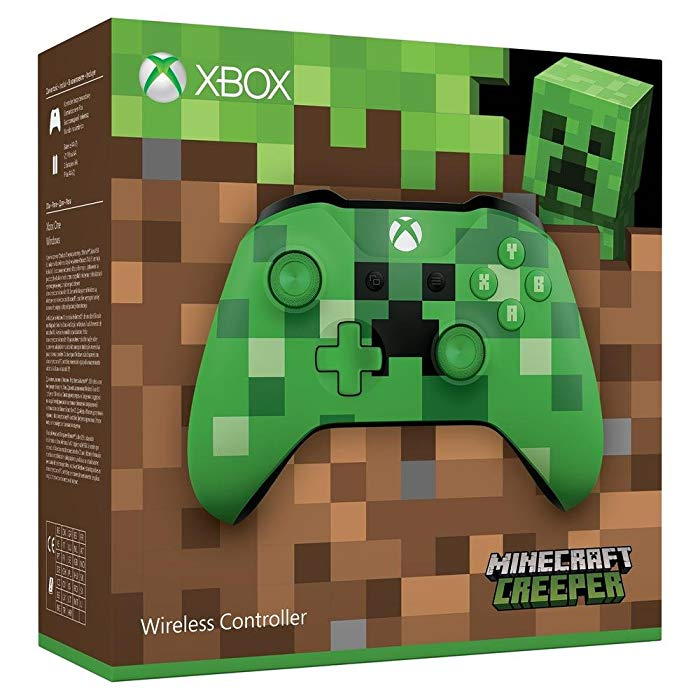 Microsoft Xbox Wireless Controller (PC, Xbox One S) Edición Limitada Minecraft Creeper
