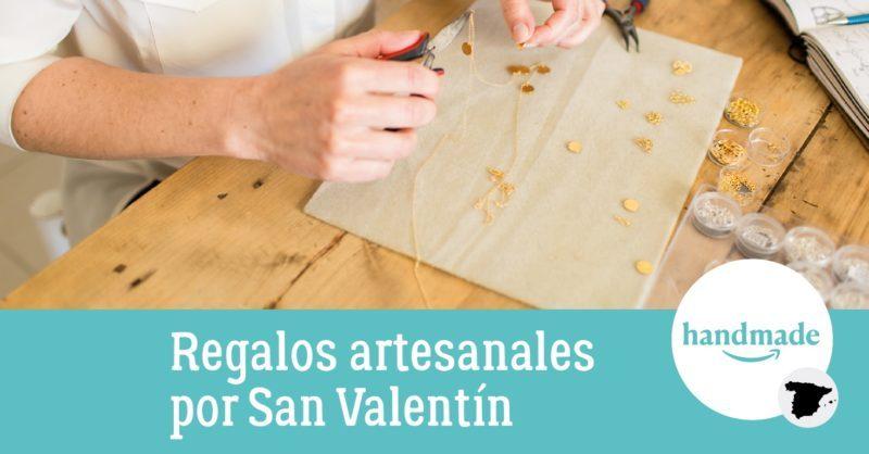 Regalos artesanales por San Valentín en Amazon