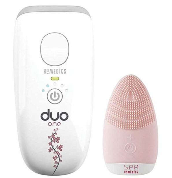 Set Homedics Duo One con depiladora + Cepillo