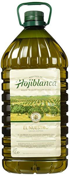 Aceite de oliva virgen extra HOJIBLANCA El Nuestro garrafa 5 litros